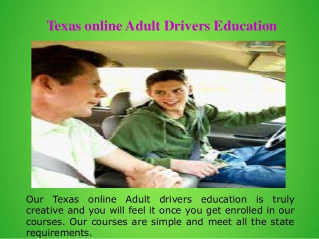 drivers ed online for adults