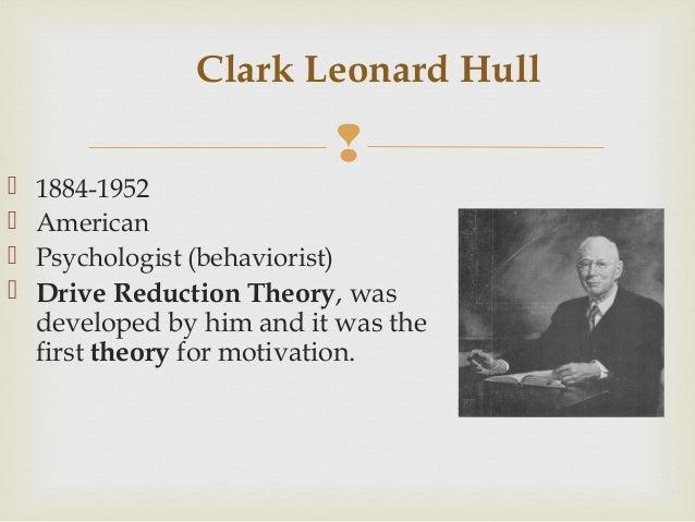 Clark leonard hull essay