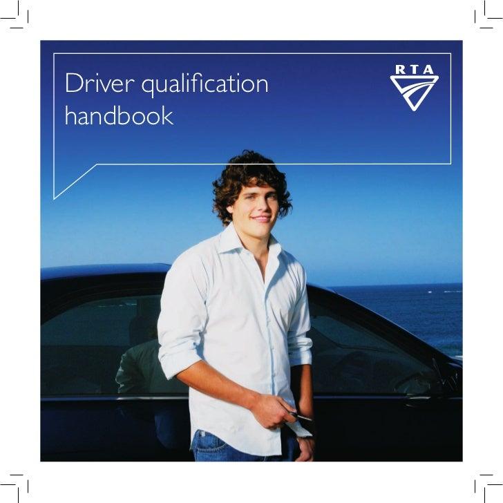 Driver qualificationhandbook