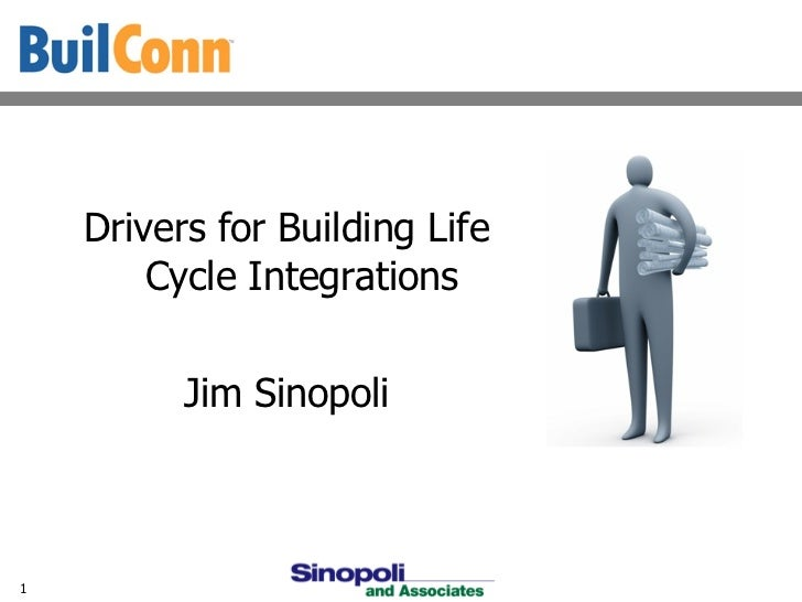 Driversfor Building Lifecycle Integration