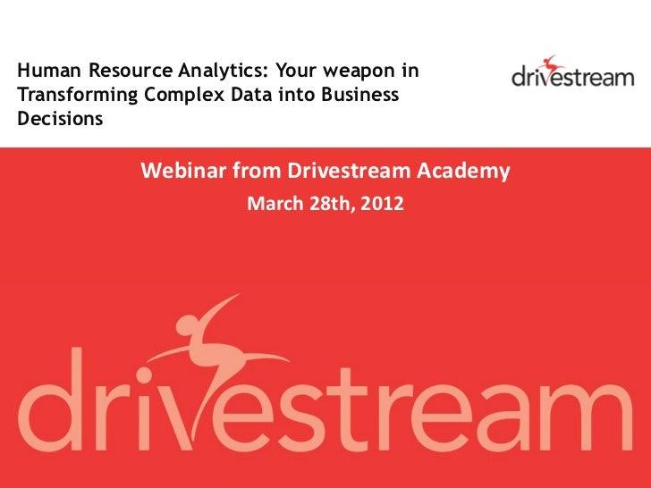 OBIA HR Analytics: Transform complex data into business decisions