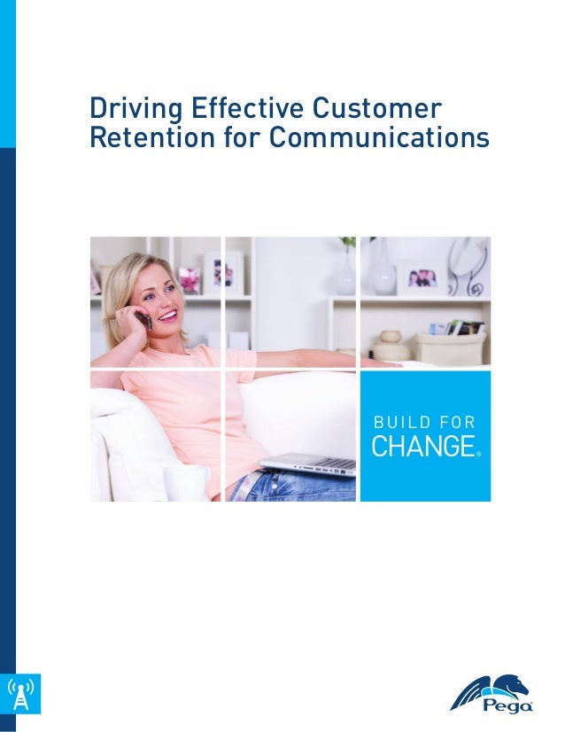 Driving Effective Customer Retention for Communications