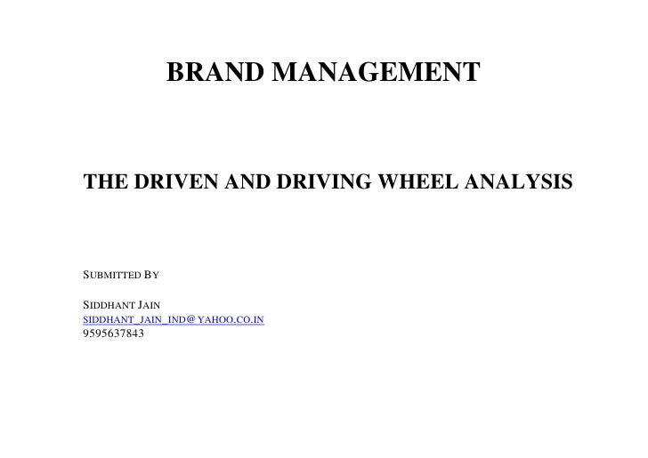 Driving And Driven Wheel
