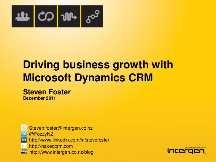 Driving Business Growth with Microsoft Dynamics CRM