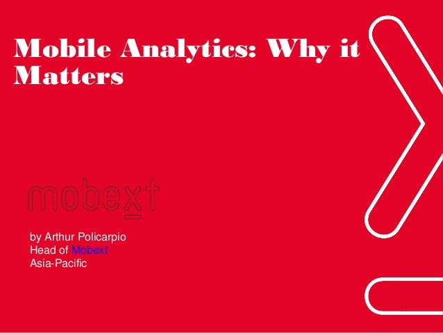 Driving Consumer Insights Through Mobile Analytics