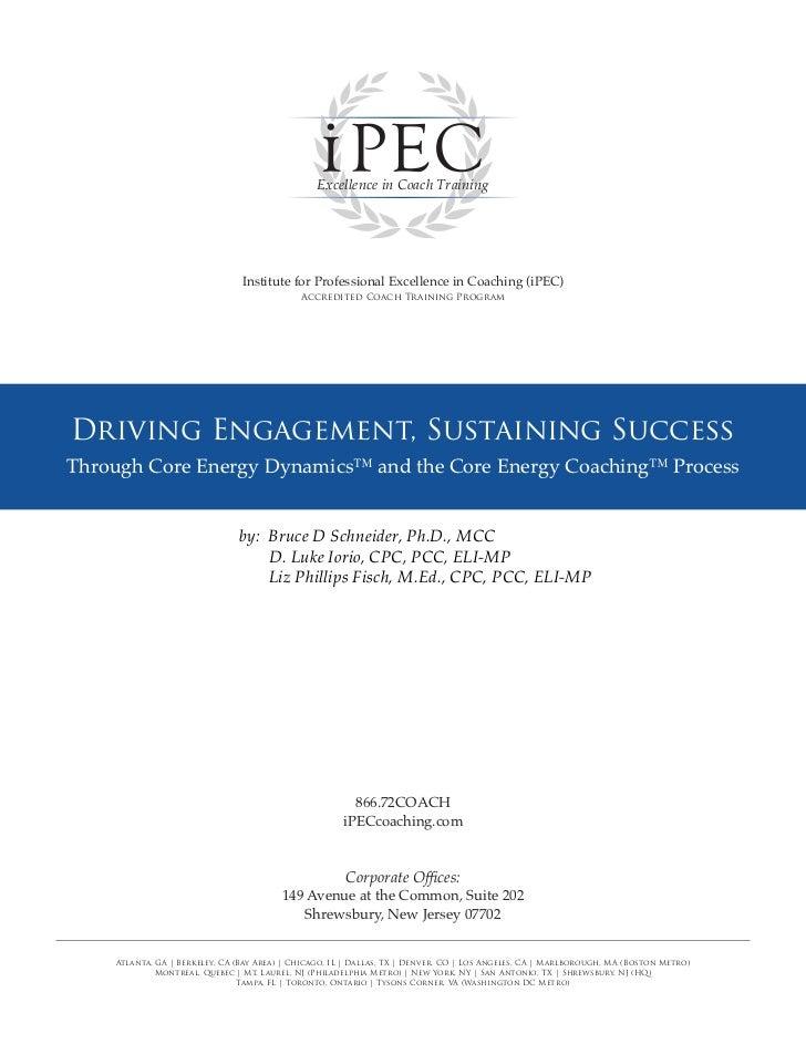 Driving Engagement, Sustaining Success