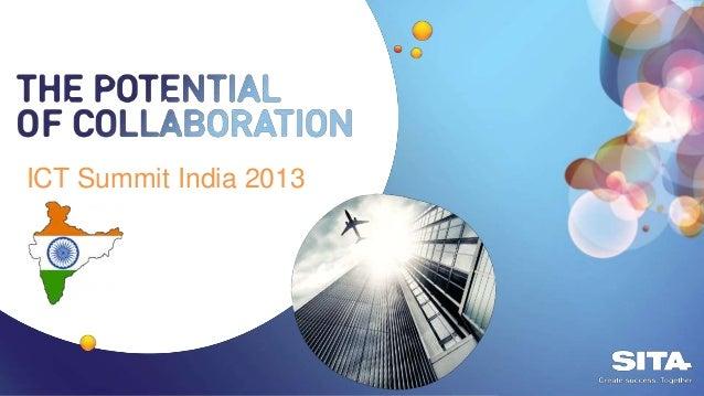India ICT Forum 2013 - Ian Tunnacliffe, SITA