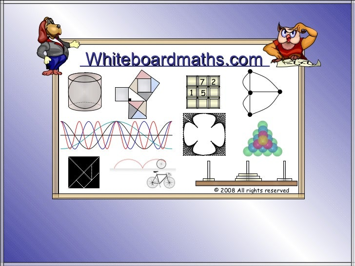 Whiteboardmaths.com © 2008 All rights reserved 5 7 2 1