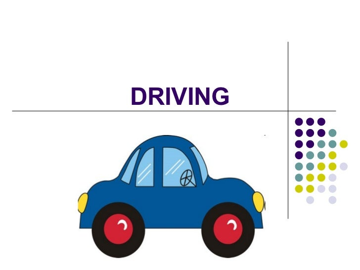 Driving: Vocabulary