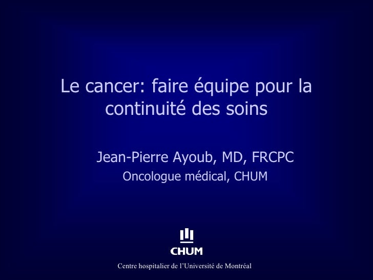 Dr jean pierre_ayoub_cancer_19_avril_2012