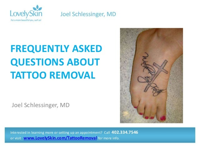 Joel schlessinger md faq tattoo removal for Tattoo removal maryland