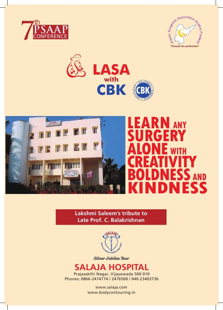 7 th PSAAP CONFERENCE                           LASA                        with                       CBK                ...