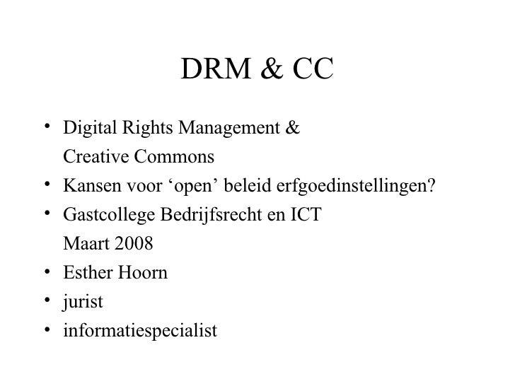 DRM&CC