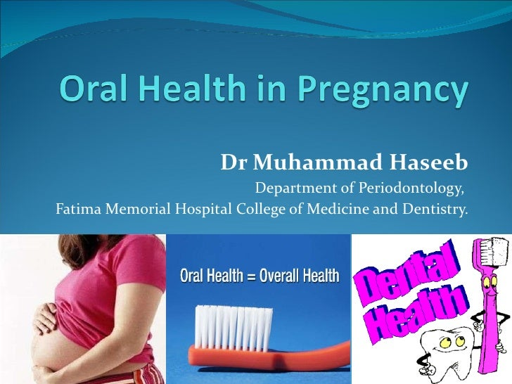 Dr Muhammad Haseeb Department of Periodontology,  Fatima Memorial Hospital College of Medicine and Dentistry.