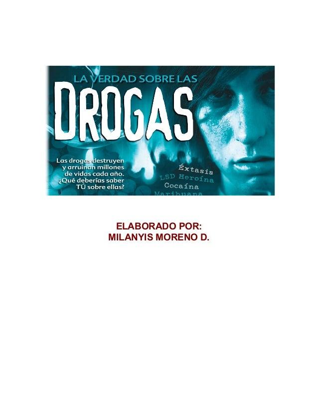 ELABORADO POR: MILANYIS MORENO D.
