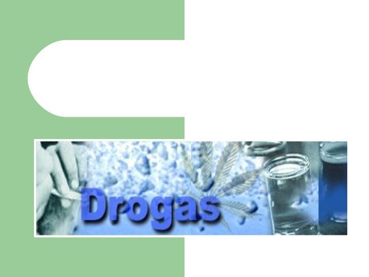 trabalho sobre drogas