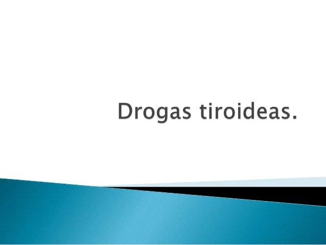 Drogas antitiroidea ok