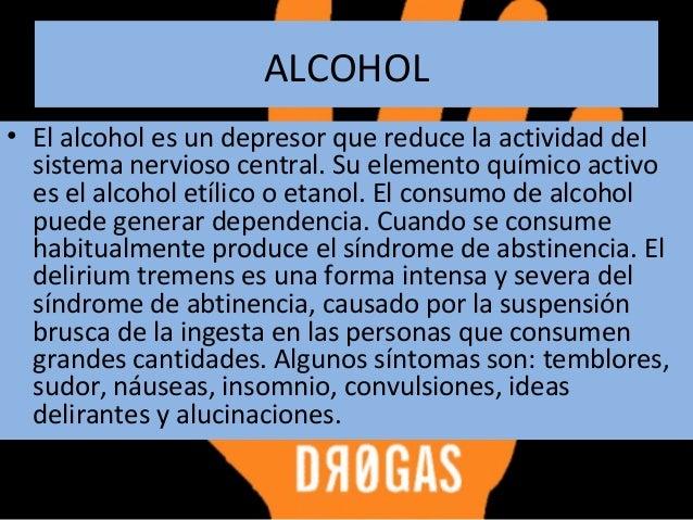 El ataque de la dependencia alcohólica