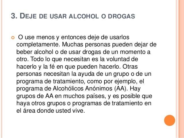 El tratamiento contra el alcoholismo en amerike