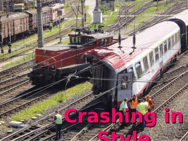 crashing in style