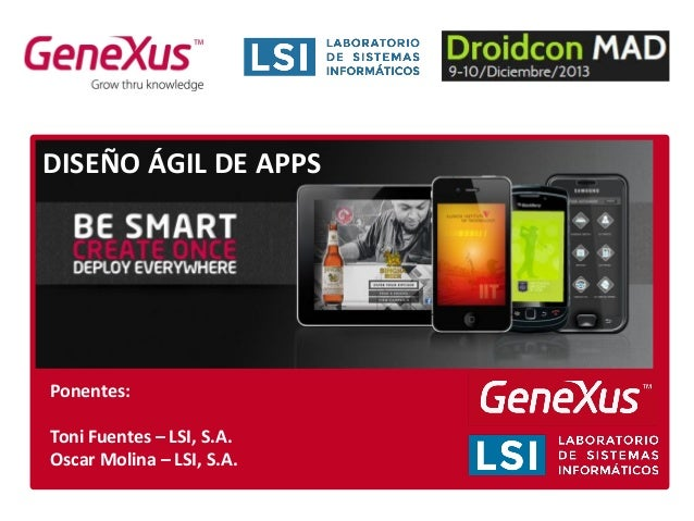 Desarrollo ágil de apps con Genexus