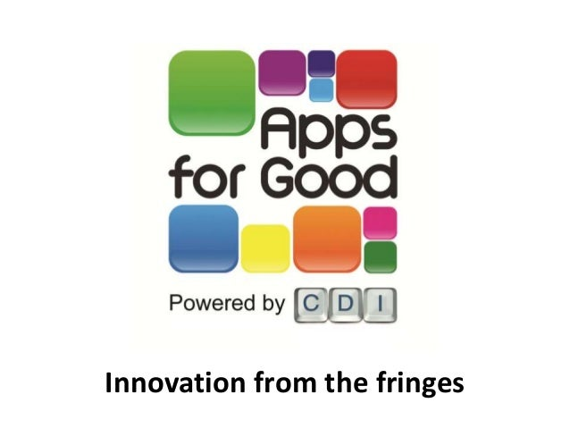 Apps for Good by CDI - Droidcon 2010