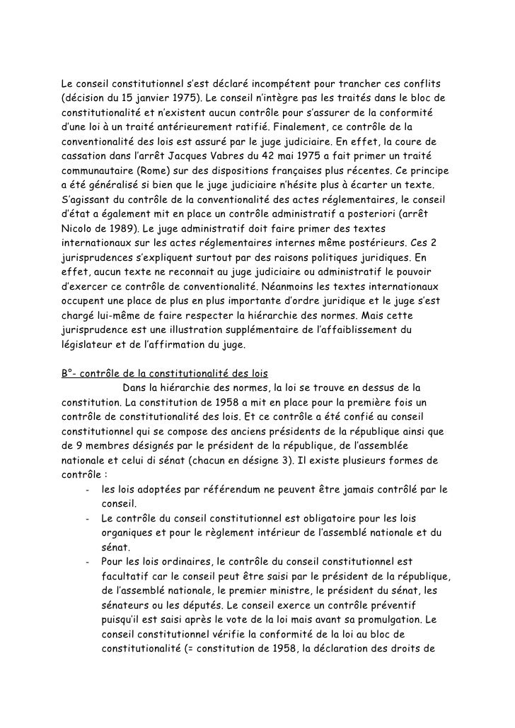 dissertation conseil constitutionnel