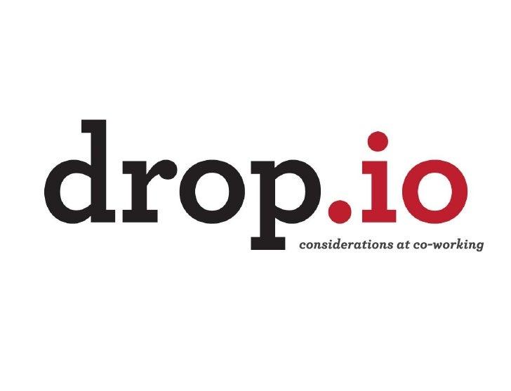 Drop.io at MEET Coworking