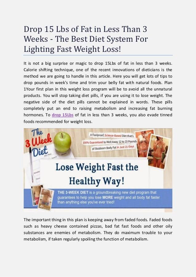 3 week fat blast diet pdf download
