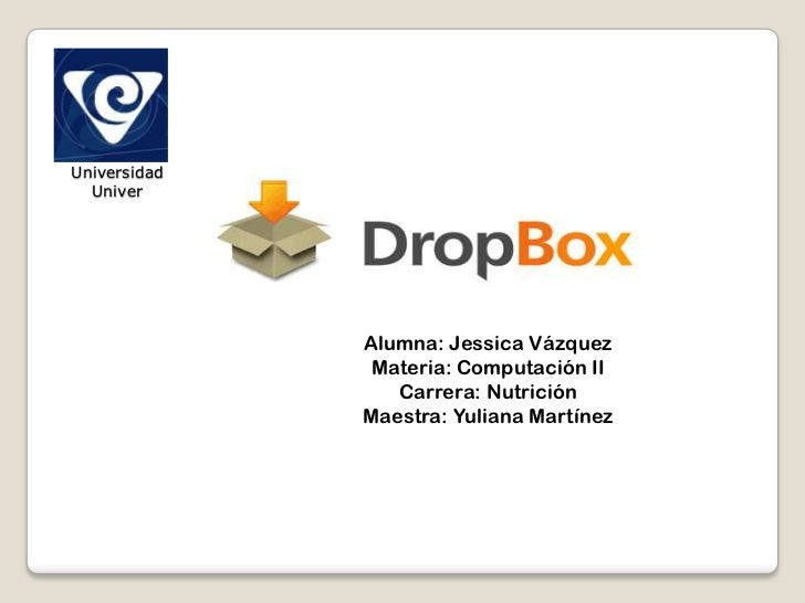 Universidad Univer<br />Alumna: Jessica Vázquez<br />Materia: Computación II<br />Carrera: Nutrición<br />Maestra: Yuliana...