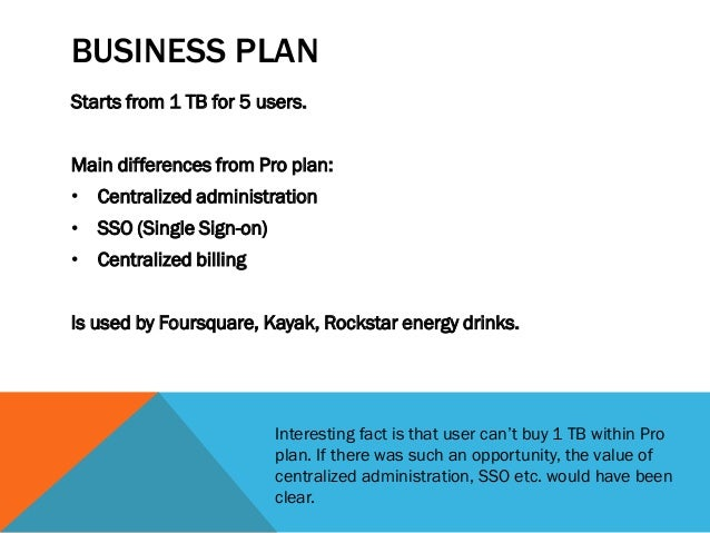 Pricing strategy business plan