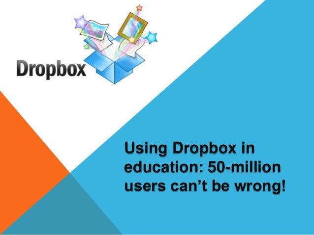 Dropbox presentation