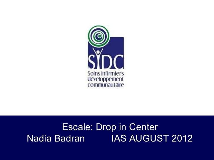 Drop in center iac presentation2012