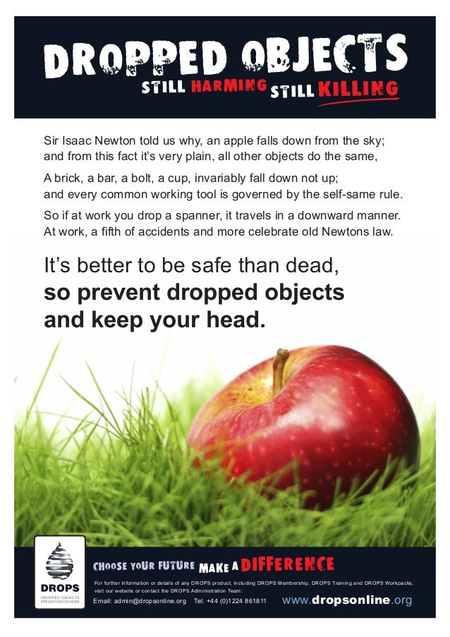 Sir Isaac Newton told us why, an apple falls down from the sky; and from this fact it's very plain, all other objects do t...