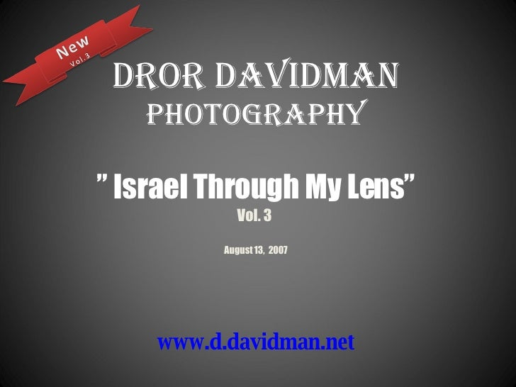 Dror Davidman   Photos