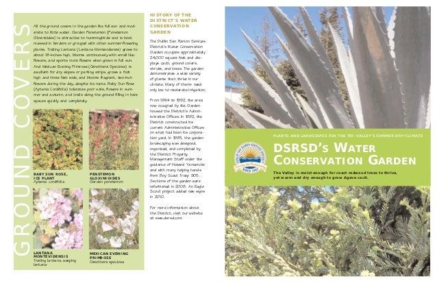 DSRSD's Water Conservation Garden - New Zealand