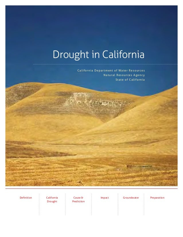 Drought in California