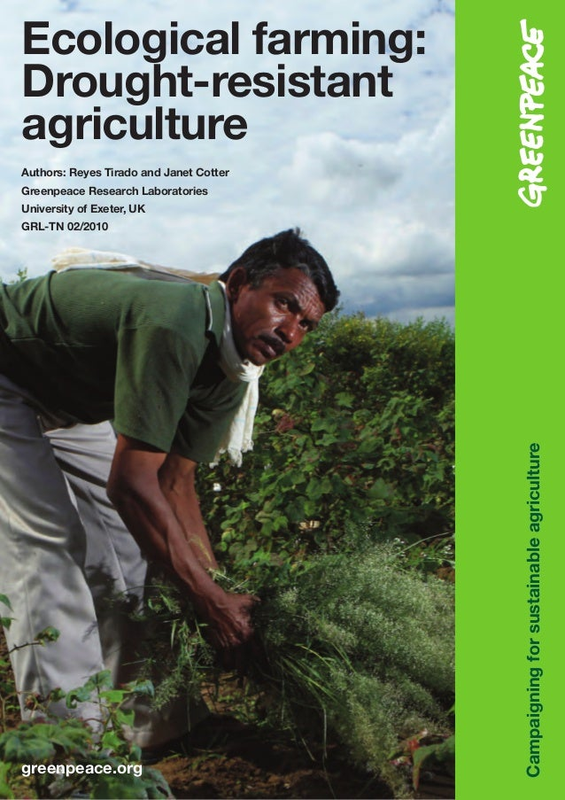 Ecological Farming: Agriculture Drought-Resistant Agriculture