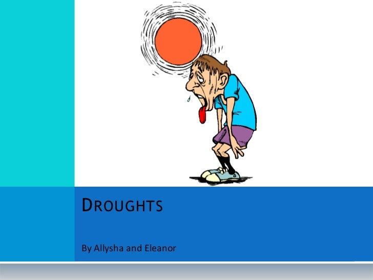 Droughts 2o11