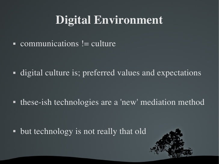 digital culture for drp