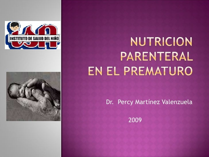 Dr.  Percy Martínez Valenzuela 2009