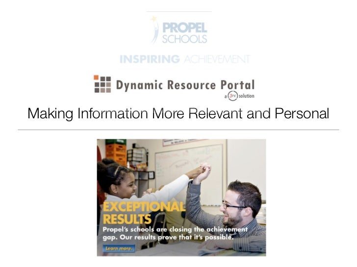 Making Information More Relevant and Personal