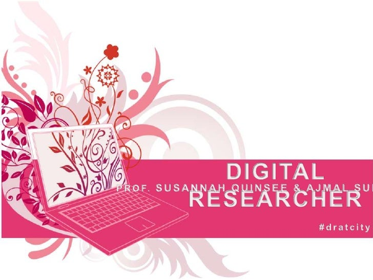 Digital Researcher at Higher Education