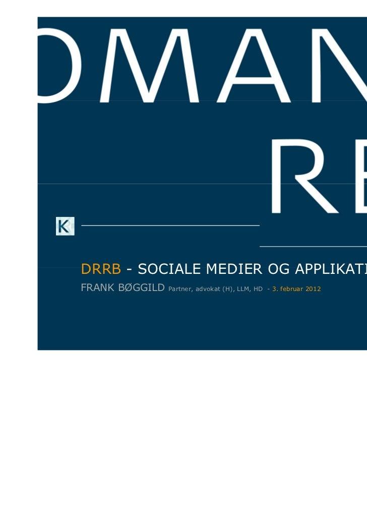 Drrb facebook+apps