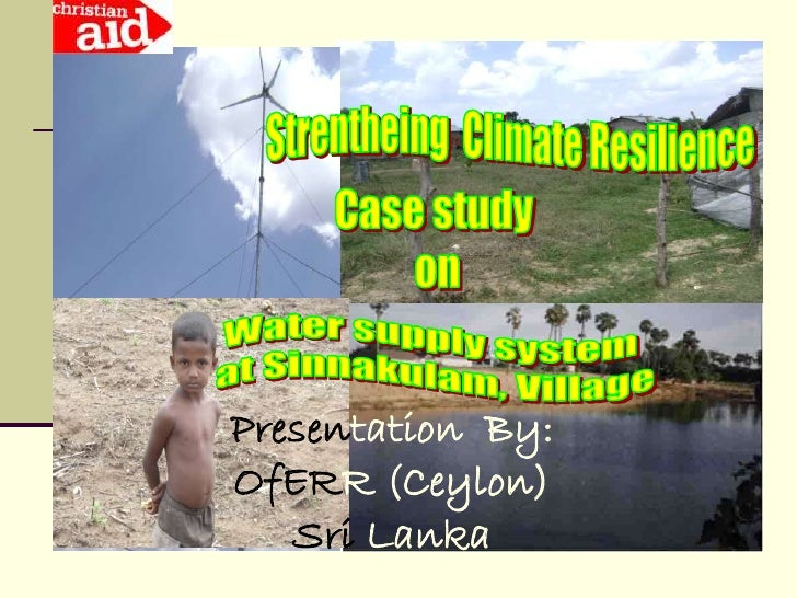 Presentation By: OfERR (Ceylon)    Sri Lanka