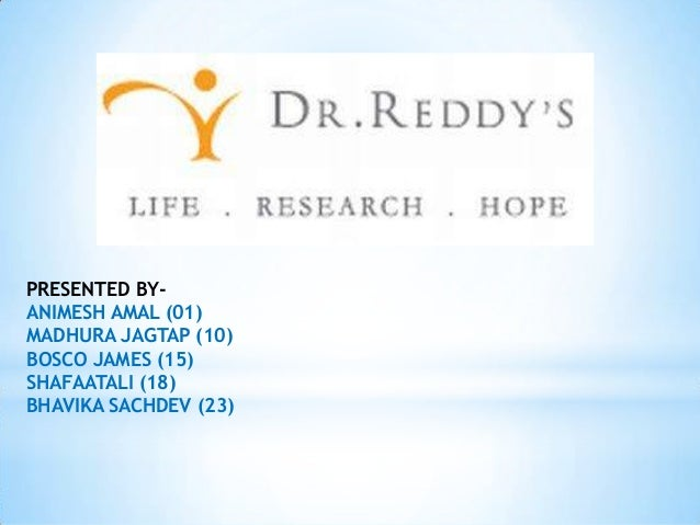 Product Mix of Dr. Reddy's