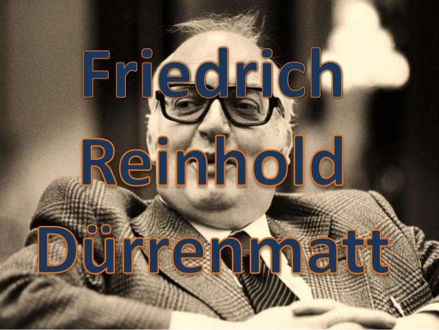 Lebensdaten•   Geboren 1921 in Konolfingen im Kanton Bern•   Reinhold Dürrenmatt, protestantischer Pfarrer•   Hulda Dürren...