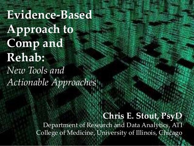 Evidence-based practice, technology and rehabilatation