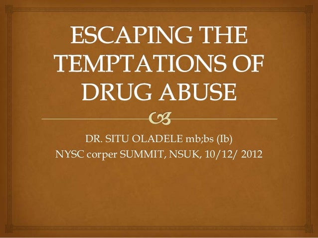 DR. SITU OLADELE mb;bs (Ib) NYSC corper SUMMIT, NSUK, 10/12/ 2012