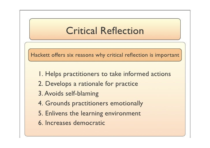 assignment 4 childrearing practices reflection Mindful reflection details: based on the article, mindful reflection as a process for developing culturally responsive practices, prepare a 500-750-word reflective essay.